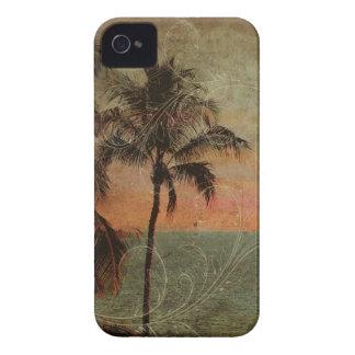 PixDezines Vintage Hawaiian Beach hapuna Case-Mate iPhone 4 Cases