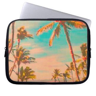PixDezines vintage hawaiian beach Laptop Sleeve