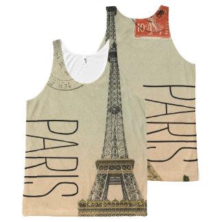 PixDezines vintage la tour eiffel/paris/DIY text