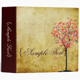 PixDezines Vintage Maple Tree Vinyl Binder