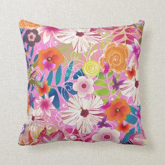 PixDezines wailea/diy background color Throw Pillow