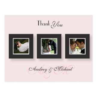 PixDezines Wedding Thank you photos/DIY color Postcard
