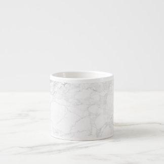 PixDezines WHITE MARBLE Espresso Cup