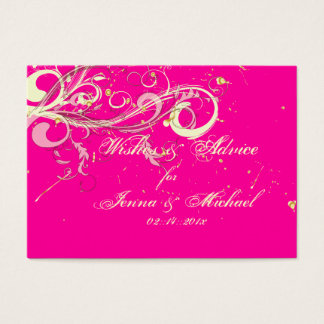 PixDezines wishes/vanilla swirls/diy background Business Card