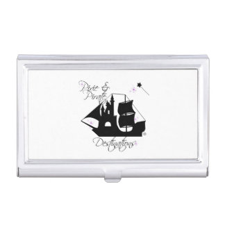 Pixe and Pirate Destinations Business Card Holder