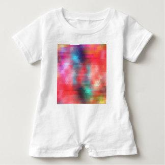 pixel art 1 baby romper