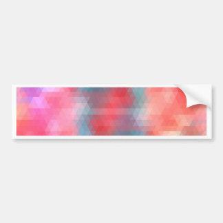 pixel art 1 bumper sticker