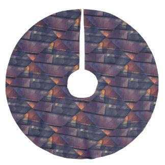 pixel art 5 brushed polyester tree skirt