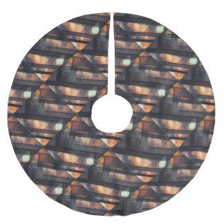 pixel art 6 brushed polyester tree skirt