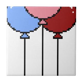 Pixel Art Balloons Tile