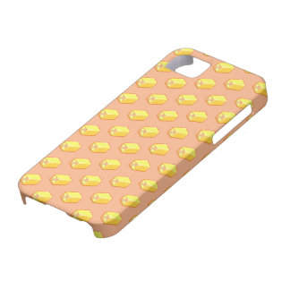 Pixel Art Battenberg Cake Pattern iPhone 5 Cover