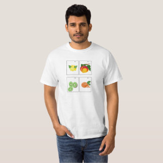 Pixel Art Fruit Series T-Shirt