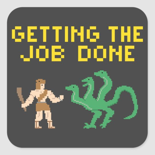 Pixel Art Hercules - Sticker