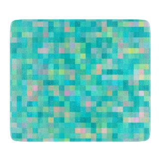 Pixel Art Multicolor Pattern Boards