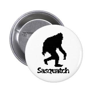 Pixel Art Sasquatch Pinback Button