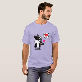 Pixel Badger says: Be My Valentine! T-Shirt