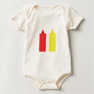 Pixel bbq sauces baby bodysuit