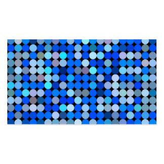 Pixel blue, aqua business card templates