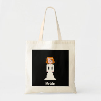 Pixel Bride Canvas Bag