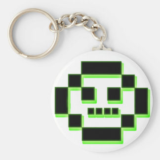 Pixel character key chains