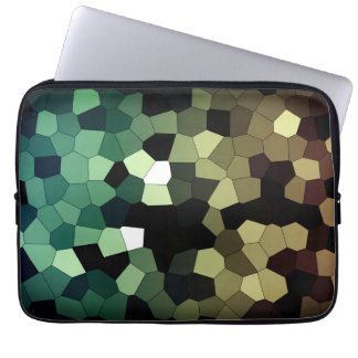 Pixel Dream - Gold/Mint Laptop Sleeve