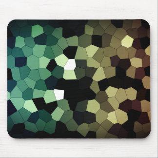 Pixel Dream - Gold/Mint Mouse Pad