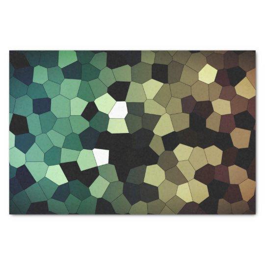 Pixel Dream - Gold/Mint Tissue Paper