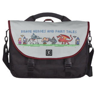 Pixel Fairy Tales Laptop Bag