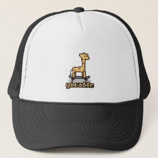 Pixel Giraffe Trucker Hat