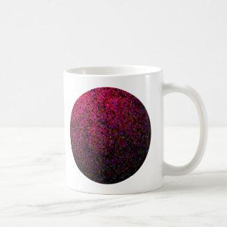 Pixel Glitch Red Coffee Mug