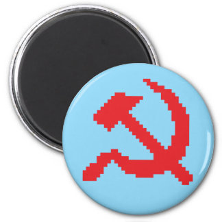 Pixel Hammer & Sickle Edition 1 Magnet