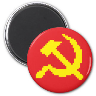 Pixel Hammer & Sickle Edition 2 Magnet