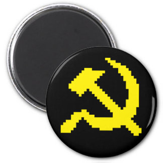 Pixel Hammer & Sickle Edition 3 Magnet