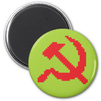Pixel Hammer & Sickle Edition 4 Magnet