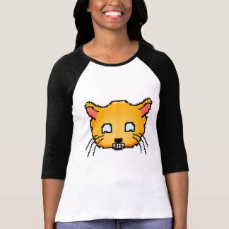 Pixel Happy Cat T-Shirt