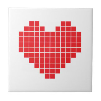 Pixel Heart Tile