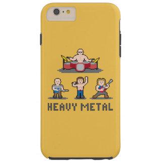 Pixel Heavy Metal iPhone 6 Plus Case Tough iPhone 6 Plus Case