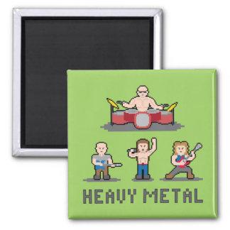 Pixel Heavy Metal Magnet