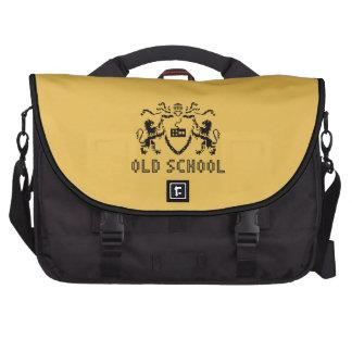 Pixel Heraldic Old School Laptop Bag
