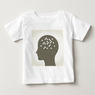Pixel in a head baby T-Shirt