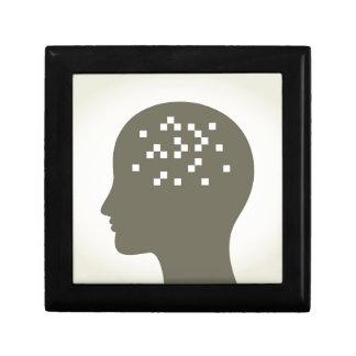 Pixel in a head gift box