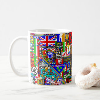 pixel kind by r/place coffee mug