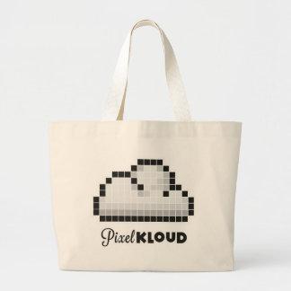 Pixel Kloud Logo Design Bags