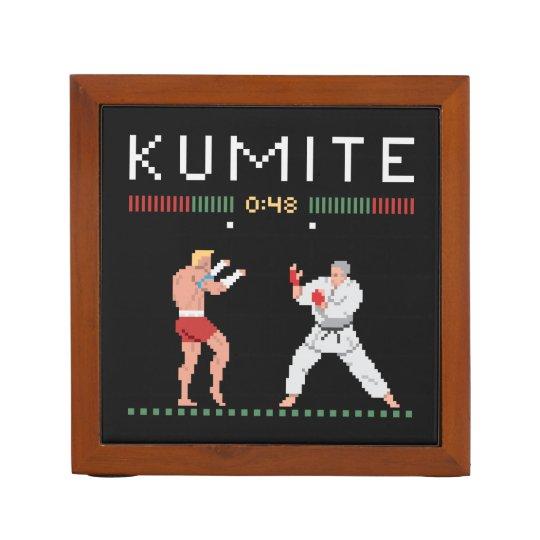 Pixel Kumite Desk Organizer