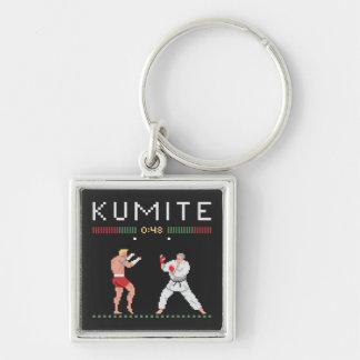Pixel Kumite Keychain