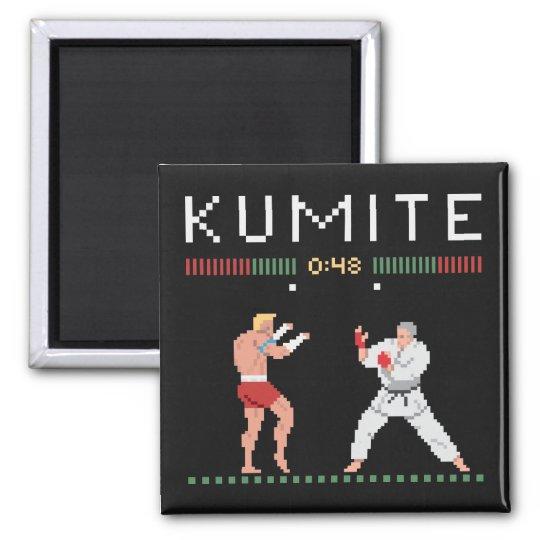 Pixel Kumite Magnet