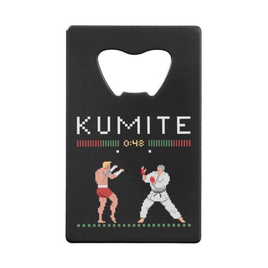 Pixel Kumite Wallet Bottle Opener