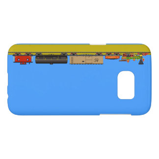 Pixel Locomotive Samsung Galaxy S7 Case