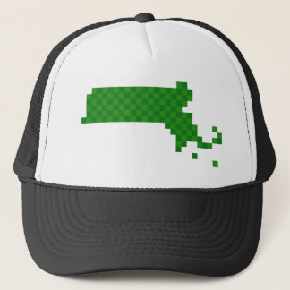 Pixel Massachusetts Trucker Hat