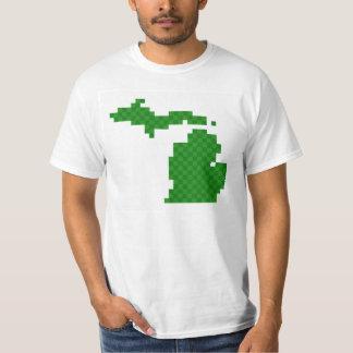 Pixel Michigan T-Shirt
